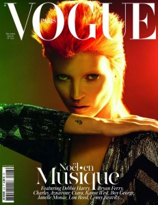 Kate Moss David Bowie Vogue