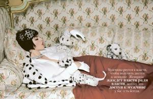 Monica Bellucci Tatler Russia