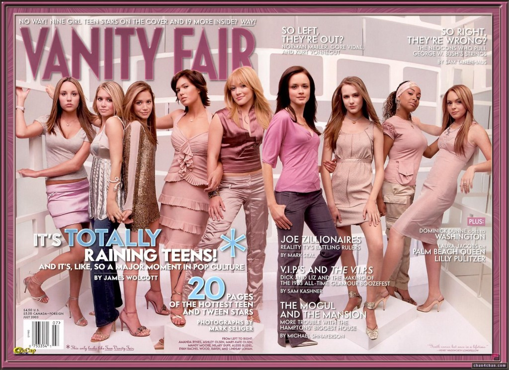 Vanity Fair Teen Cover