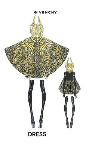 madonna givenchy dress