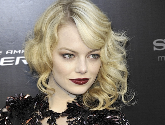 Emma Stone Spiderman Makeup
