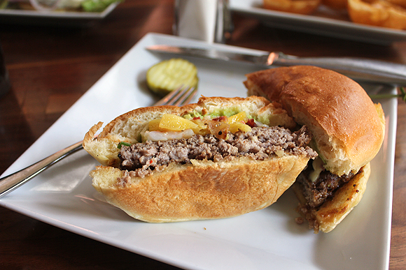 Lunch at Bru Burger