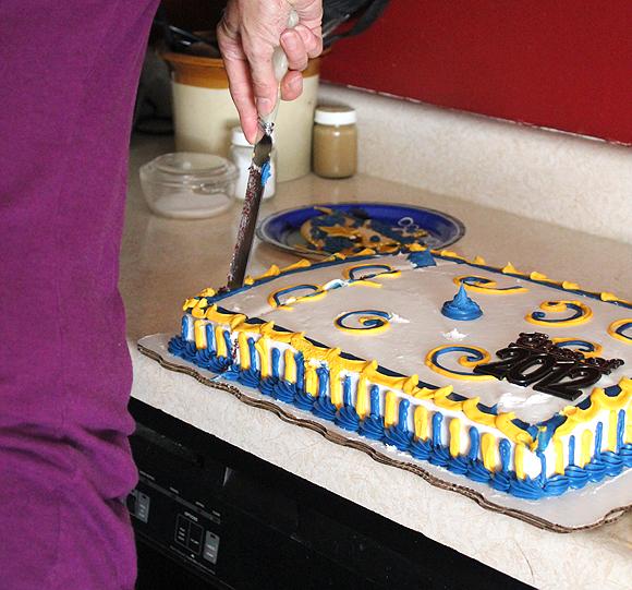 Baby 'Sister's' Grad Cake