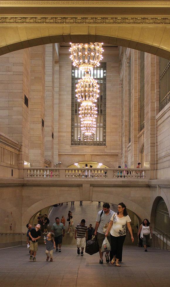 Kids in Grand Central