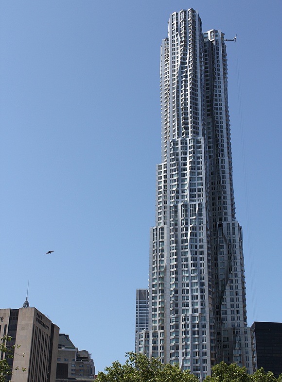 Frank Gehry's Beekman Tower