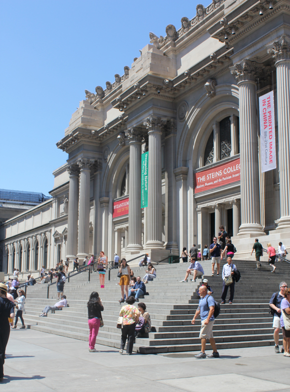 Steps at The Met