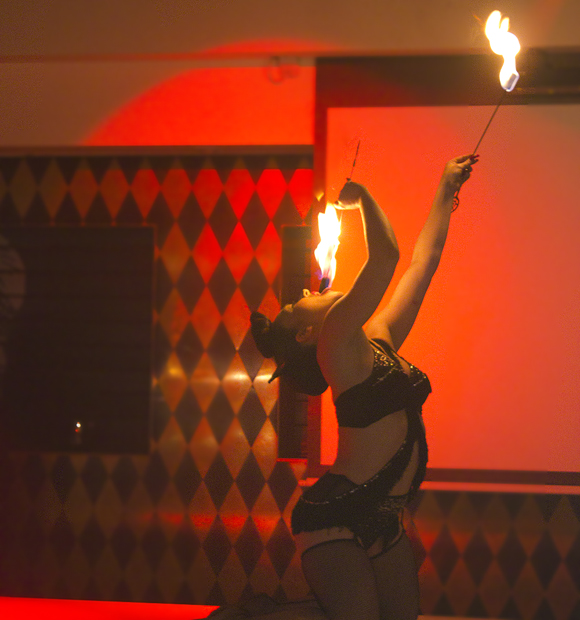 fire dancer, circus london