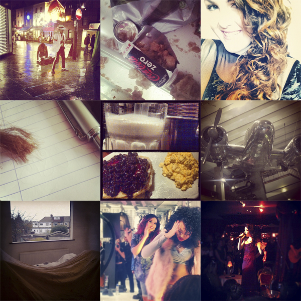 my week on instagram blog
