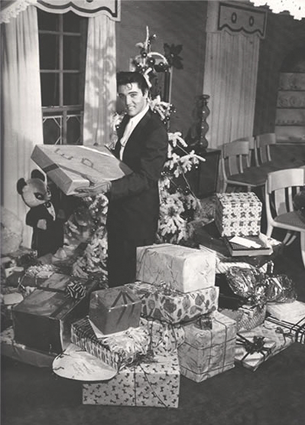 Throwback Thursday Elvis At Christmas Lela London