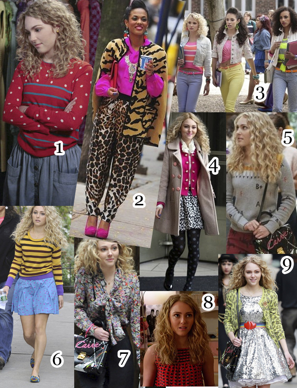 carrie diaries fashion