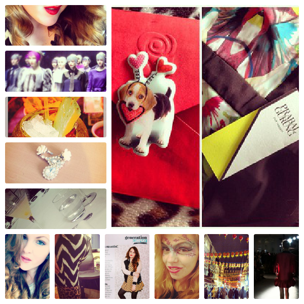 Fashion Week AW13 Instagram