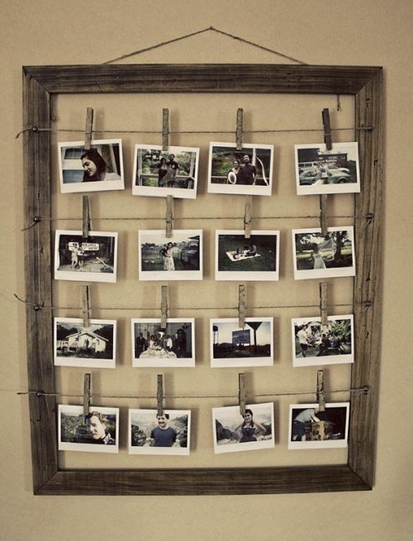 diy photos in frame
