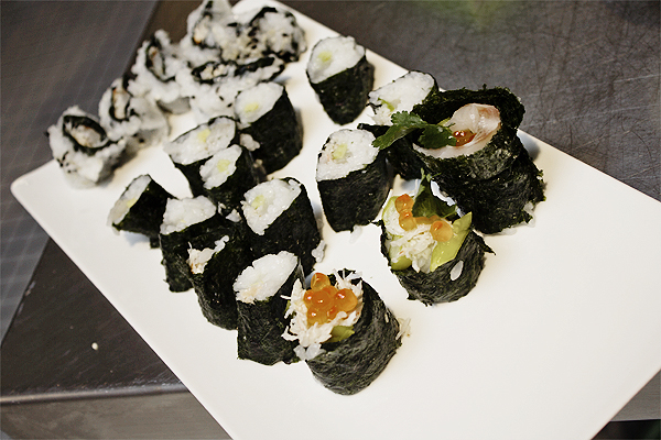 sushi class london