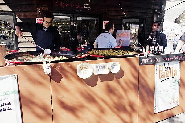 camden lock market hola paella