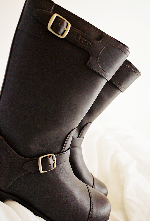 leather uggs