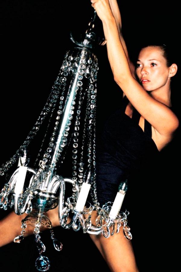 kate moss chandelier