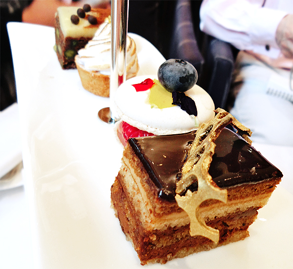 the halkin afternoon tea