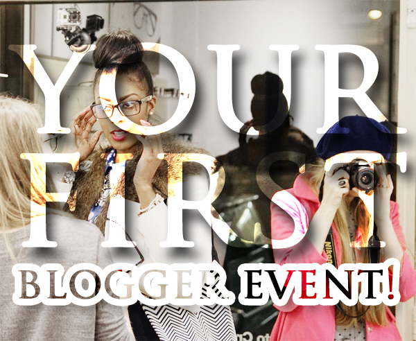 first blogger event