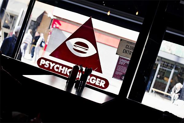 psychic burger london