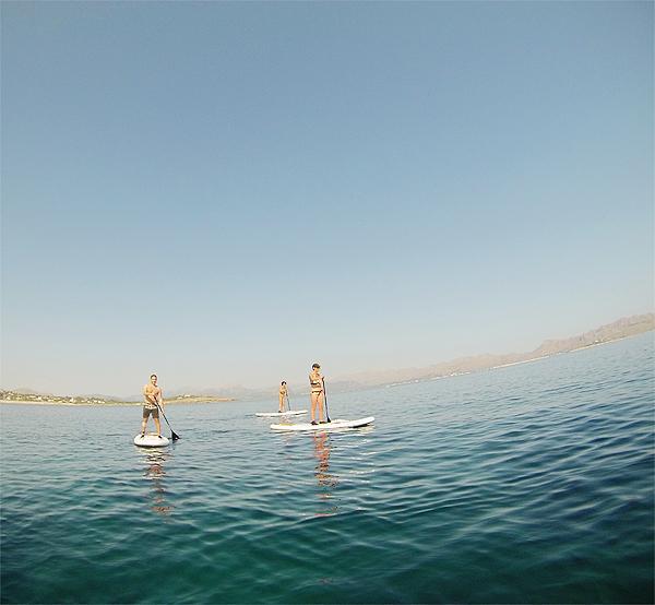 paddleboarding mallorca