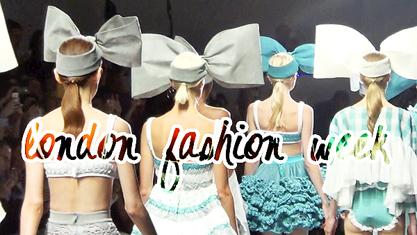 london fashion week vlog