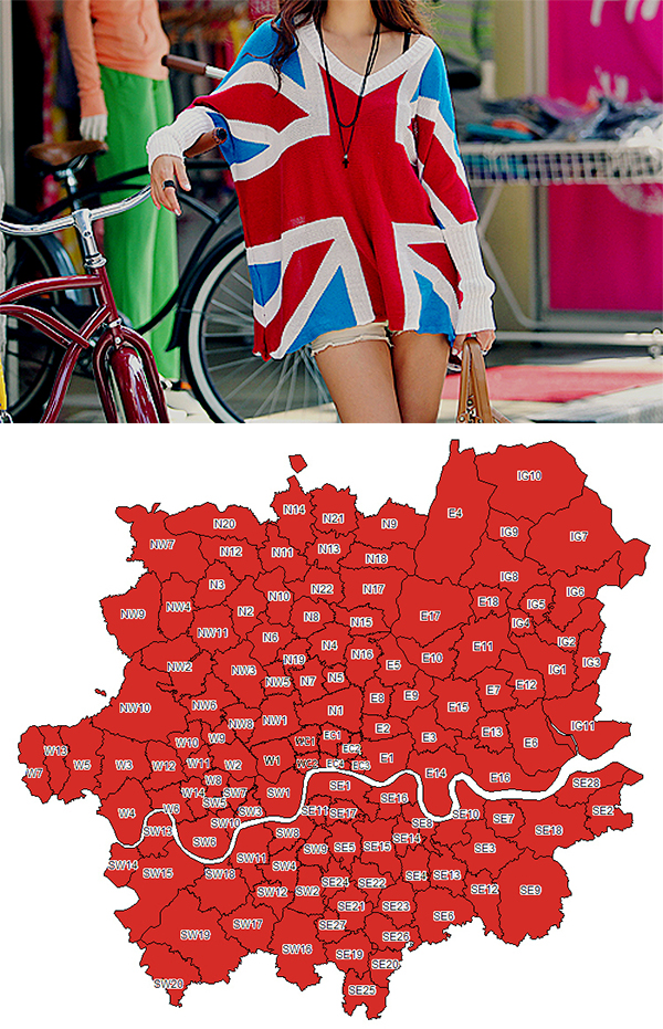london fashionable areas