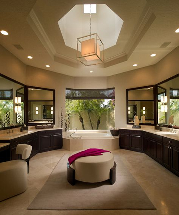 Interior Design A Bathroom Of Tactile Textures Lela