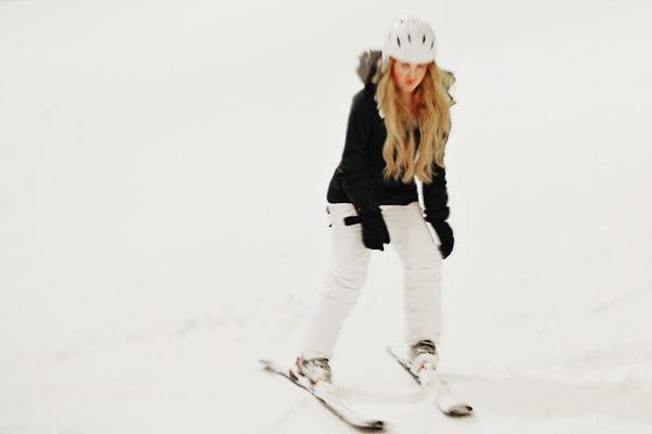 snozone ski lesson