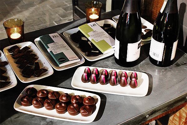 hotel chocolat blogger dinner