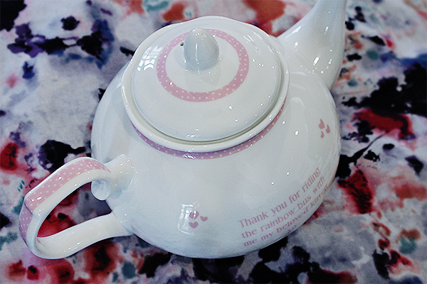 personalised teapot
