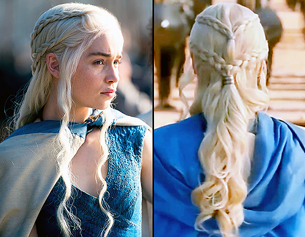 Game of Thrones (Khaleesi/Daenerys Targaryen) Hair ...