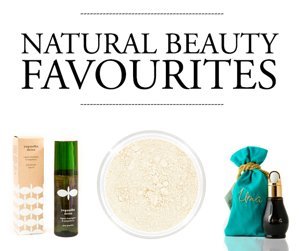 natural beauty favourites
