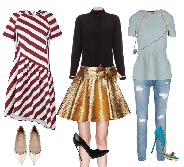 christmas outfits - What To Wear: Christmas Day, 3 Ways - Lela London - Travel, Food