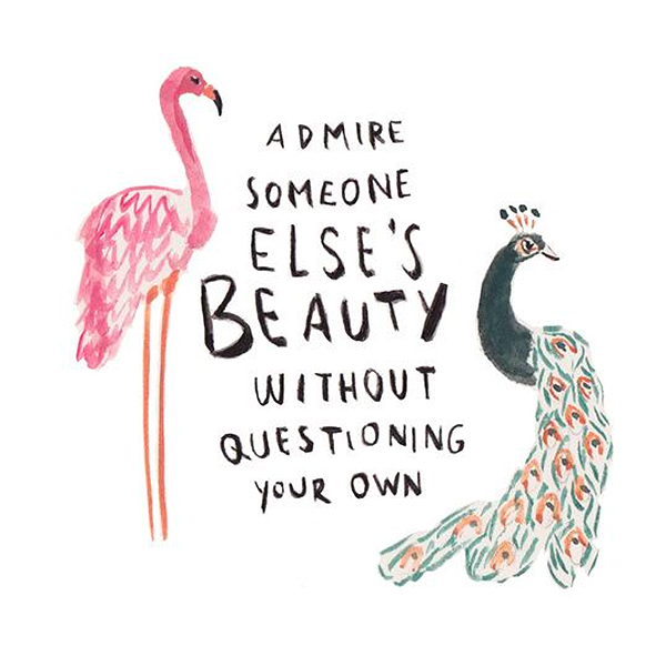 Admire Someone Else's Beauty Without Questioning Your Own Lisa Lieberman-Wang