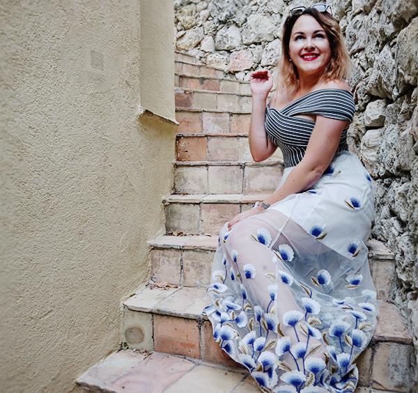 mesh skirt fashion blogger 6