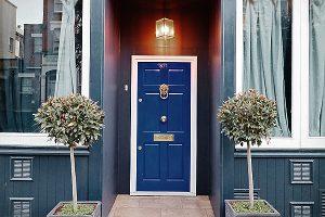 little blue door london