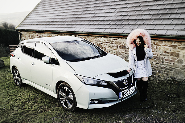 nissan leaf road trip