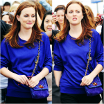 Leighton Meester in Paris