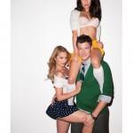 Glee Terry Richardson Sexy Lea Michele Dianna Agron Cory Monteith