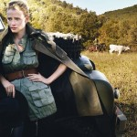 Tuscan Turnaround Vogue Lara Stone