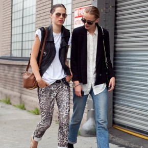 Fashion Week Street Style Frida Gustavsson Caroline Brasch Nielsen