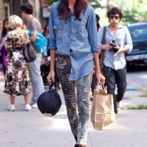 Fashion Week Street Style Joan Smalls