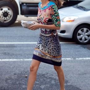 Fashion Week Street Style Marina Laroude