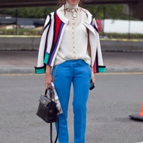 Fashion Week Street Style Miroslava Duma