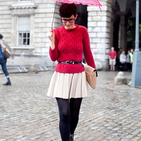 London Fashion Week Street Style Violaine Bernard
