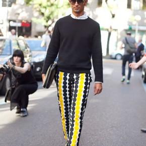 Milan Fashion Week Street Style Simone Marchetti