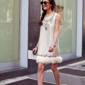 Milan Fashion Week Street Style Natalia Alaverdian