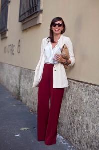 Milan Fashion Week Street Style Rossana Mazza