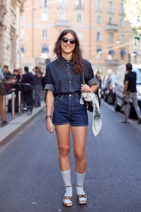 Milan Fashion Week Street Style Eva Sharpe Finlayson