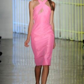Pink Dress Cushnie et Ochs